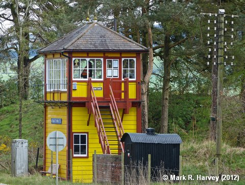 Photo: Armathwaite Station Signal Box