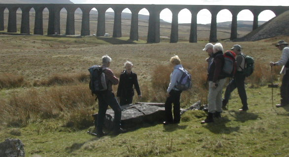 Photo: Friends at Ribblehead