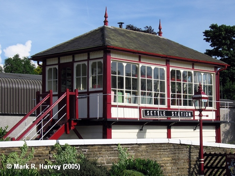 Photo: Settle Station Signal Box
