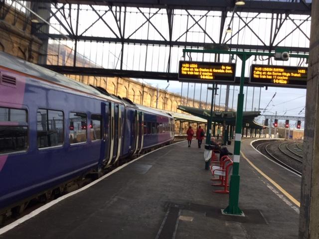 Leeds trains now at Carlisle platform 5 | FoSCL