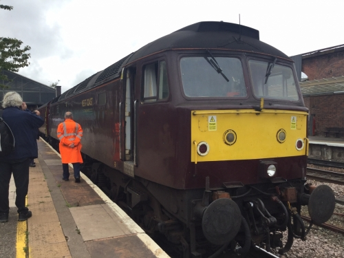 Class 57 at Chester