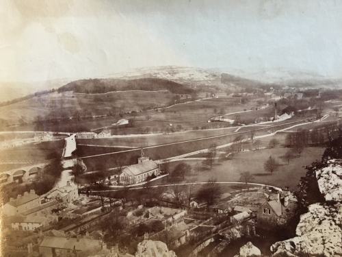 Photo: Settle area in 1888