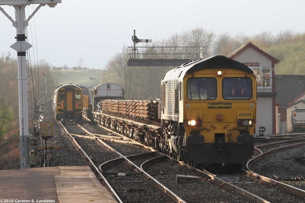 Photograph: Infrastructure train at Appleby